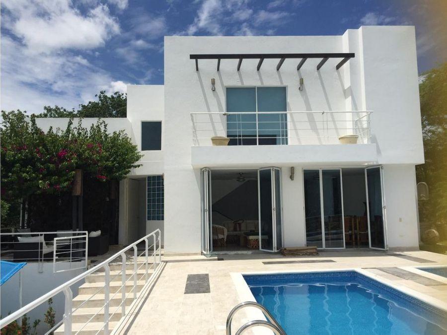 casa con piscina privada en girardot
