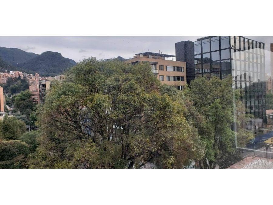 apartamento exterior con vista a parque en el nogal