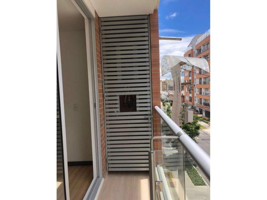 apartamento exterior moderno con balcon en santa barbara