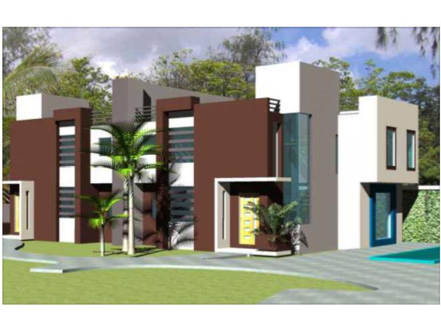 novedoso proyecto de casas en cuesta hermosa iii