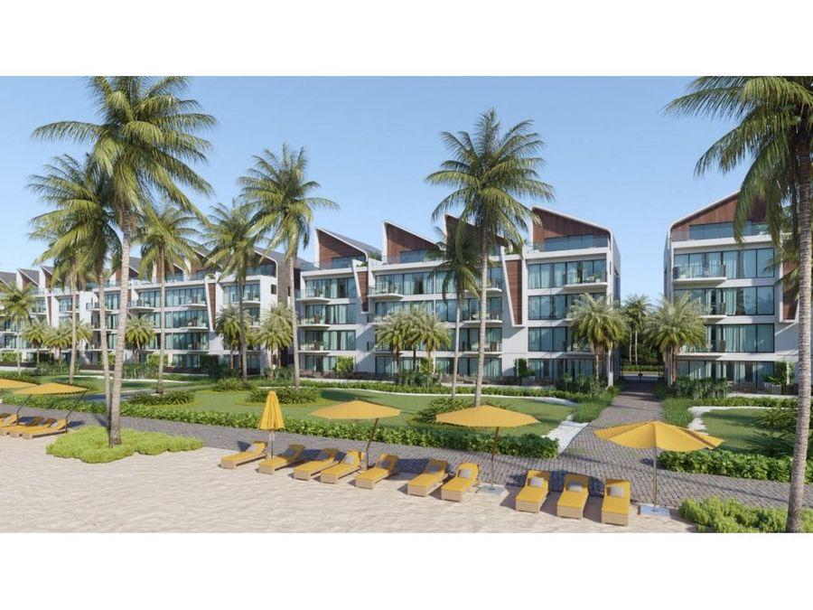the beach proyecto apartamento venta punta cana
