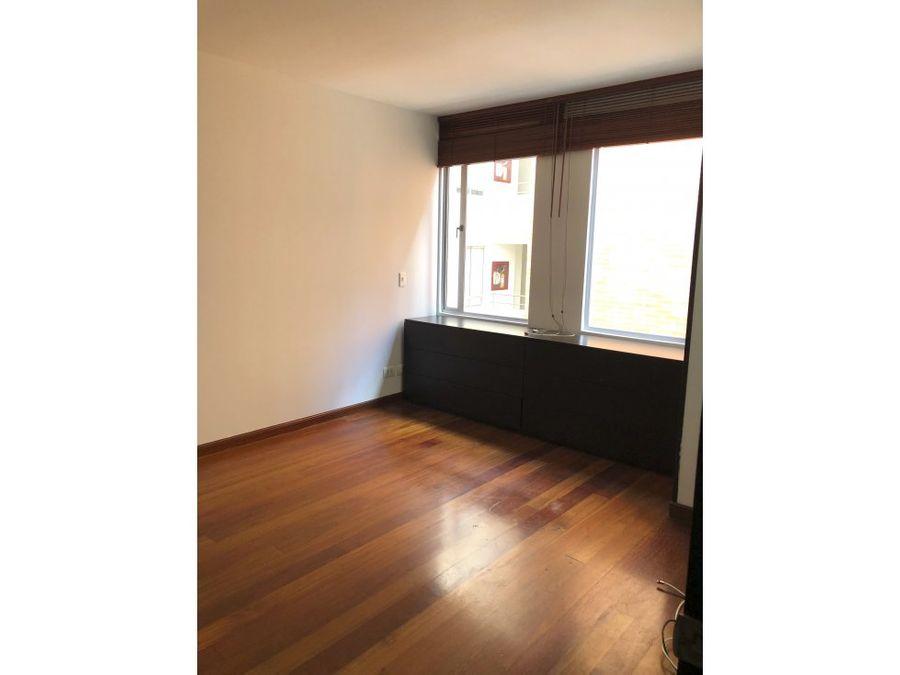 vendo acogedor apartamento en chico navarra bogota