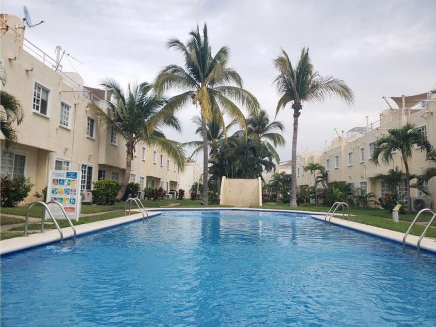 acapulco diamante hermosa vila en venta en puente del mar