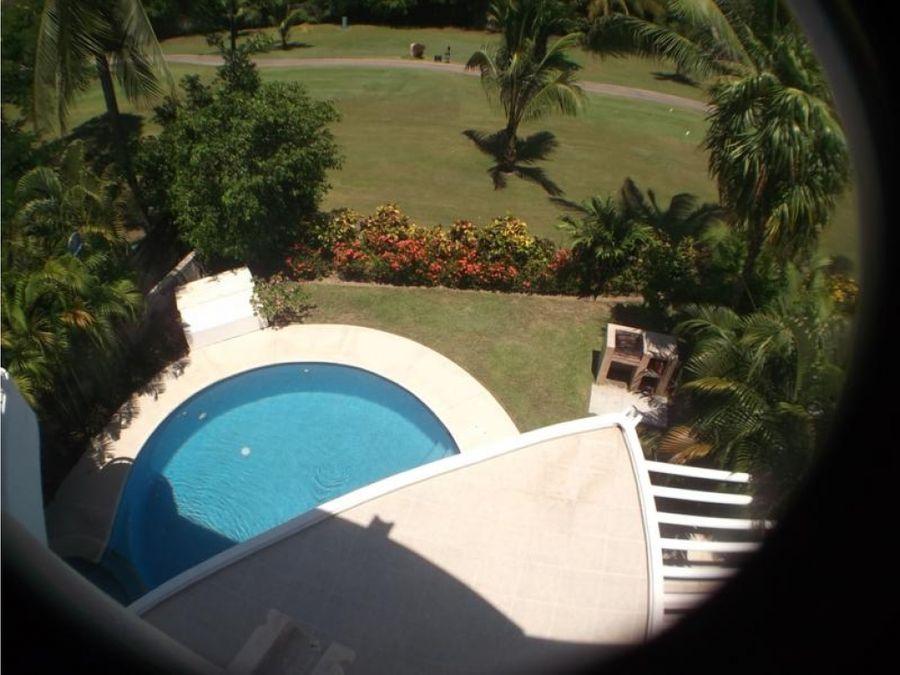 playa diamante villas xel ha renta casa vacacional en medio del golf