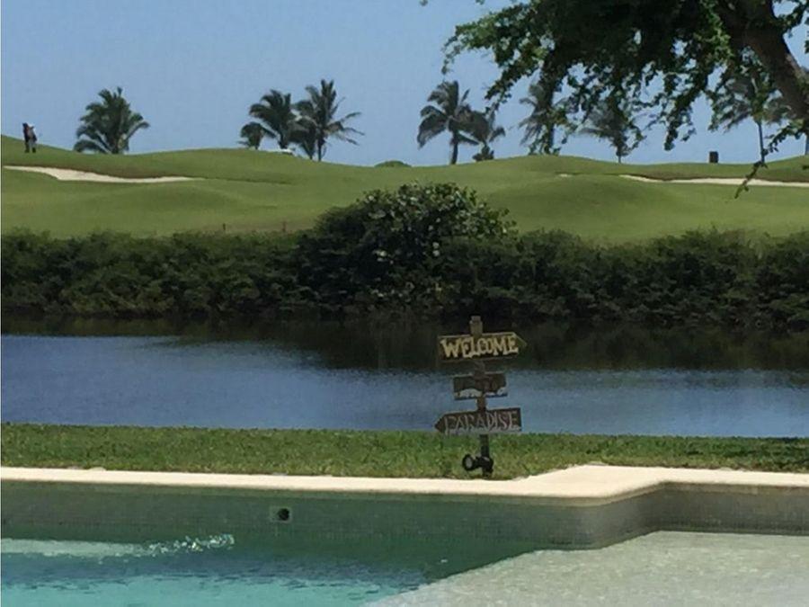 exclusivo club de golf 3 vidas casa venta diamante