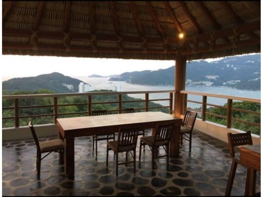 real diamante acapulco villa con espectacular vista venta