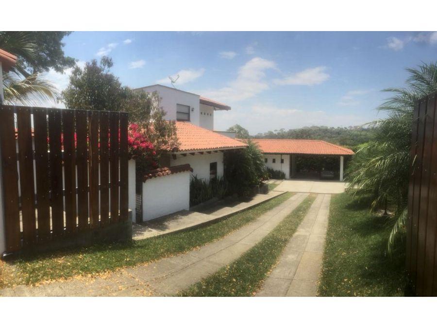 venta casa campestre alfaguara