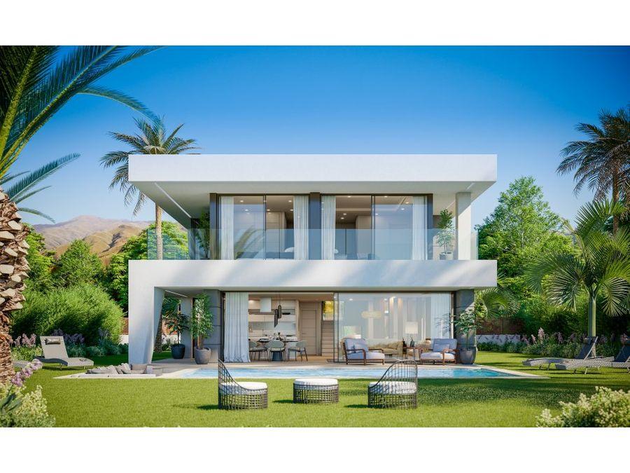 manilva villas aquamarina 3b 4b bedrooms