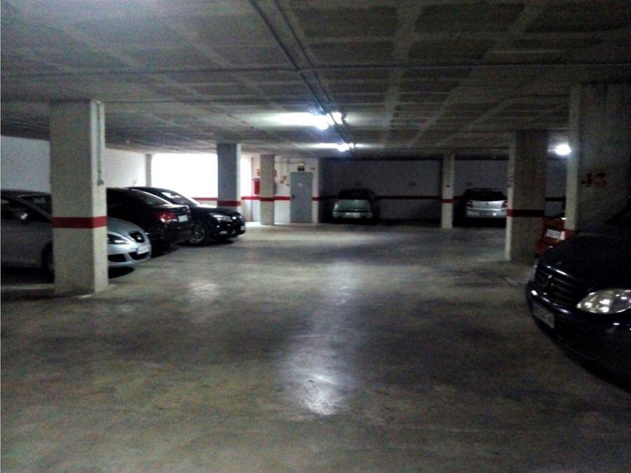 venta parking villena