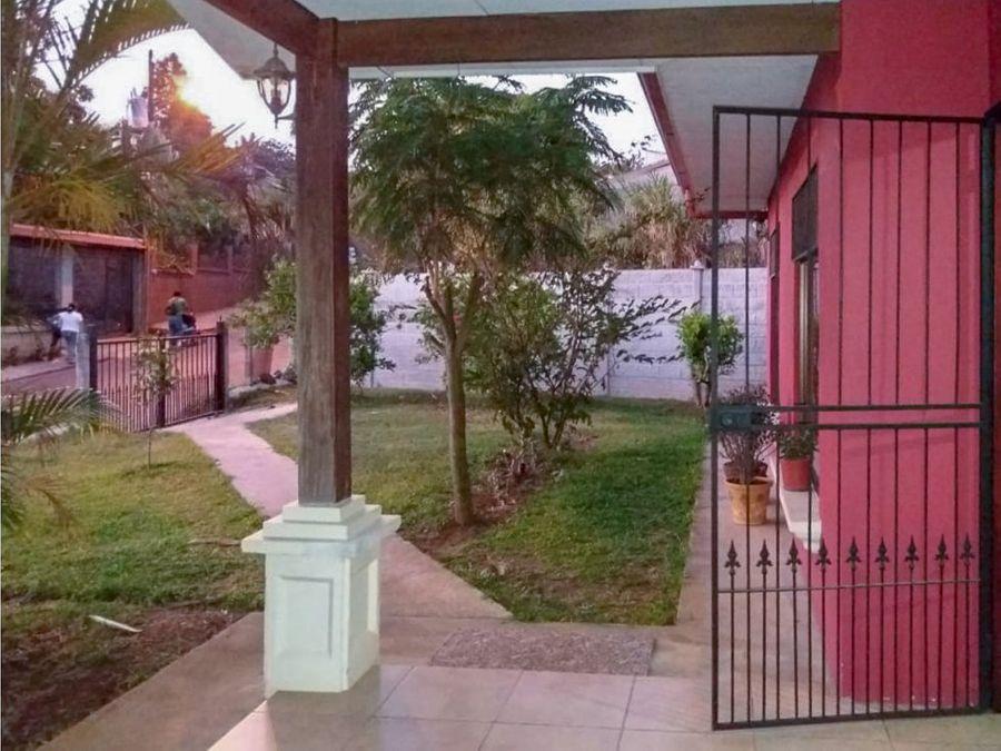 venta de casa en cirri naranjo alajuela