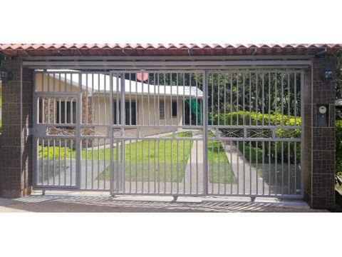 venta de hermosa casa puriscal san jose