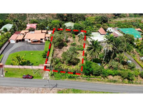 venta de terreno en zona exclusiva de naranjo alajuela