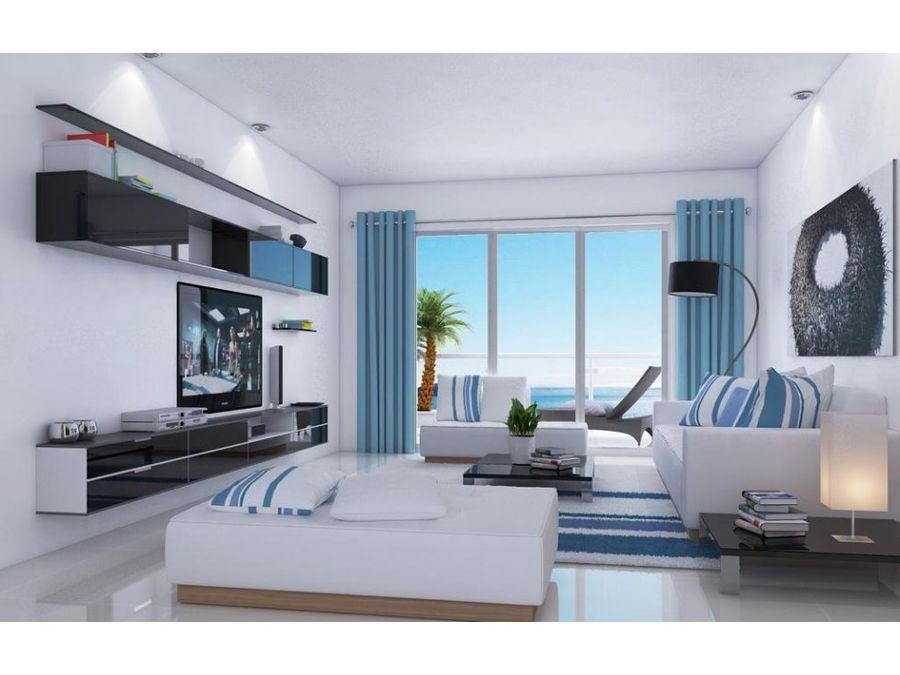 apartamento en juan dolio con vista al mar