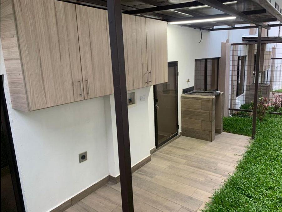 alquiler de apartamento pozos de santa ana