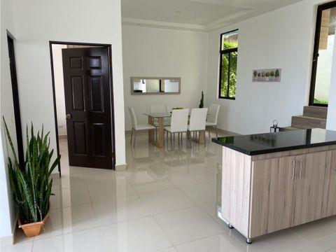 alquiler de apartamento amoblado en pozos de santa ana