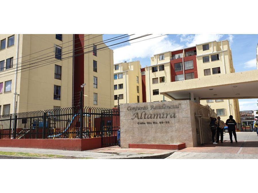 venta de apartamento en conjunto altamira plaza de las americas