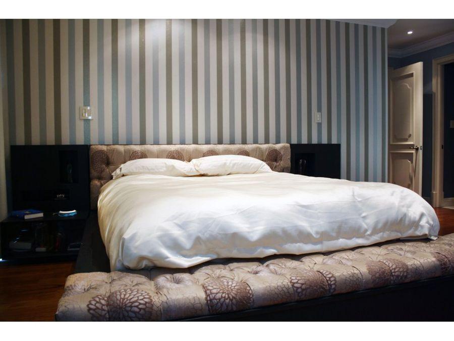 apartamento amueblado de 2 dormitorios zona 14 inversion