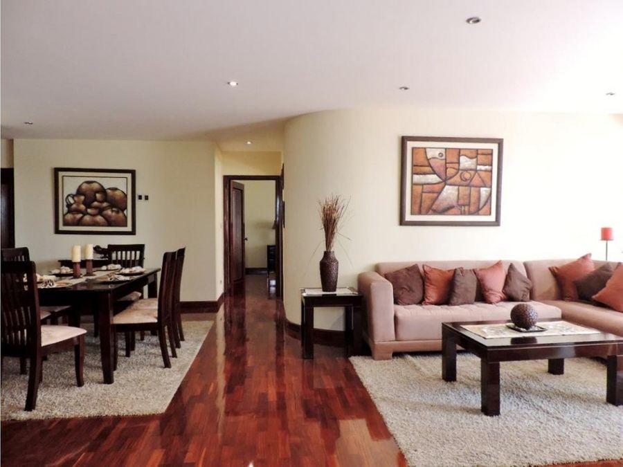apartamento nivel alto 3 hab z14
