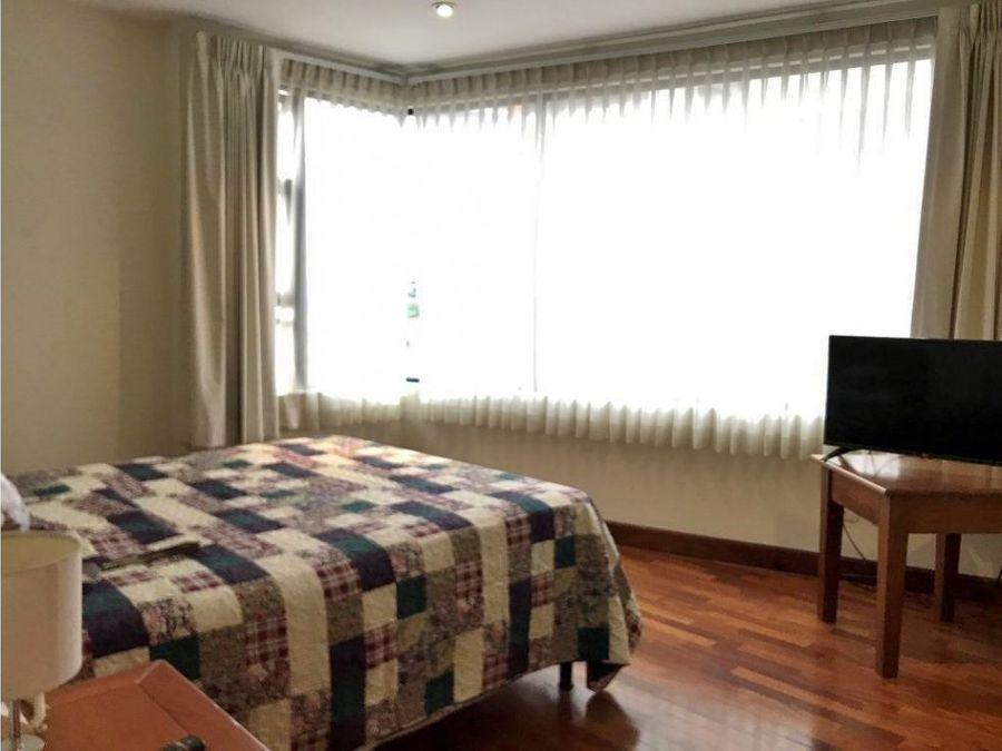 exclusivo apartamento amueblado de 1 habitacion