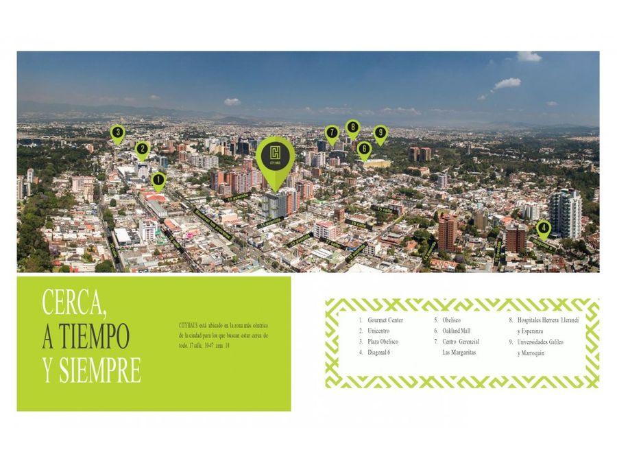 city haus apartamento para inversion