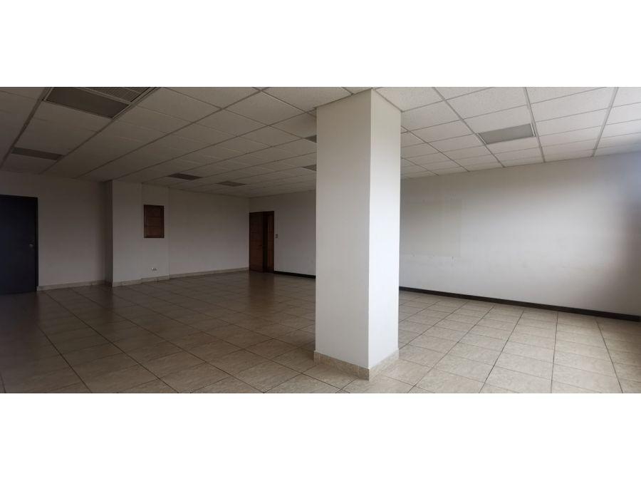 oficina ejecutiva 90 m2 con ubicacion estrategica en zona 13