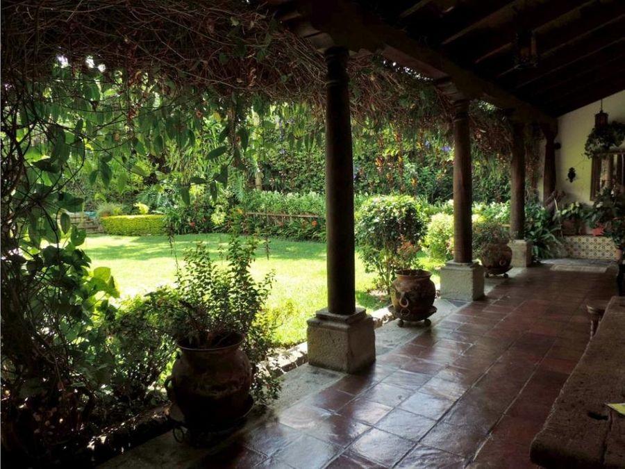 casa jardin antigua guatemala