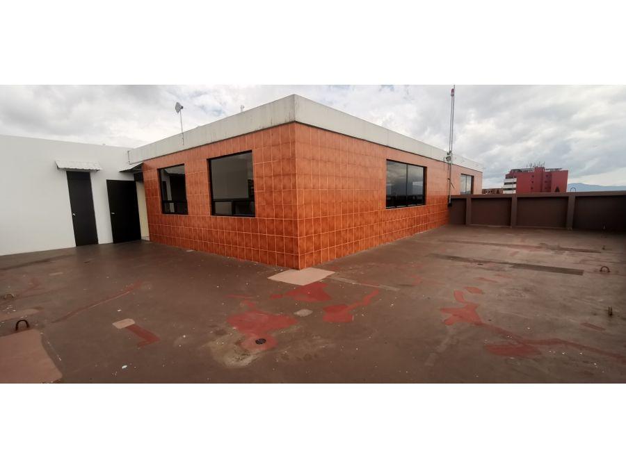 oficina corporativa 405 m2 con ubicacion estrategica en zona 13