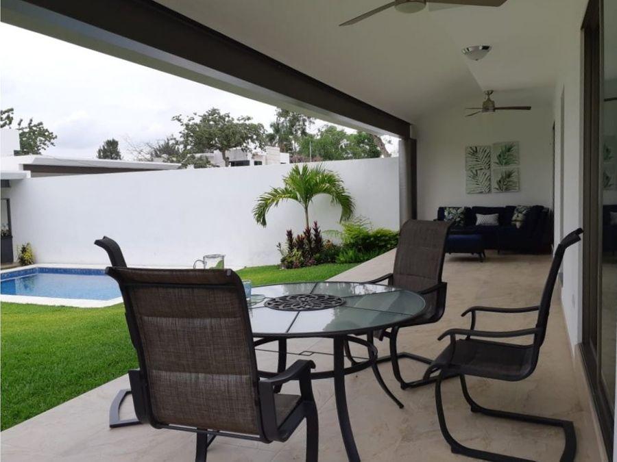 casa en venta con alberca y jardin en jiutepec morelos