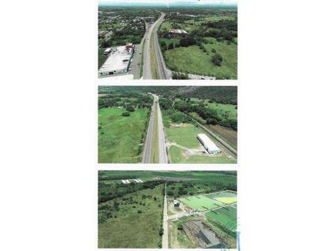 venta terreno en la vega 9950m2 autopista duarte republica dominicana