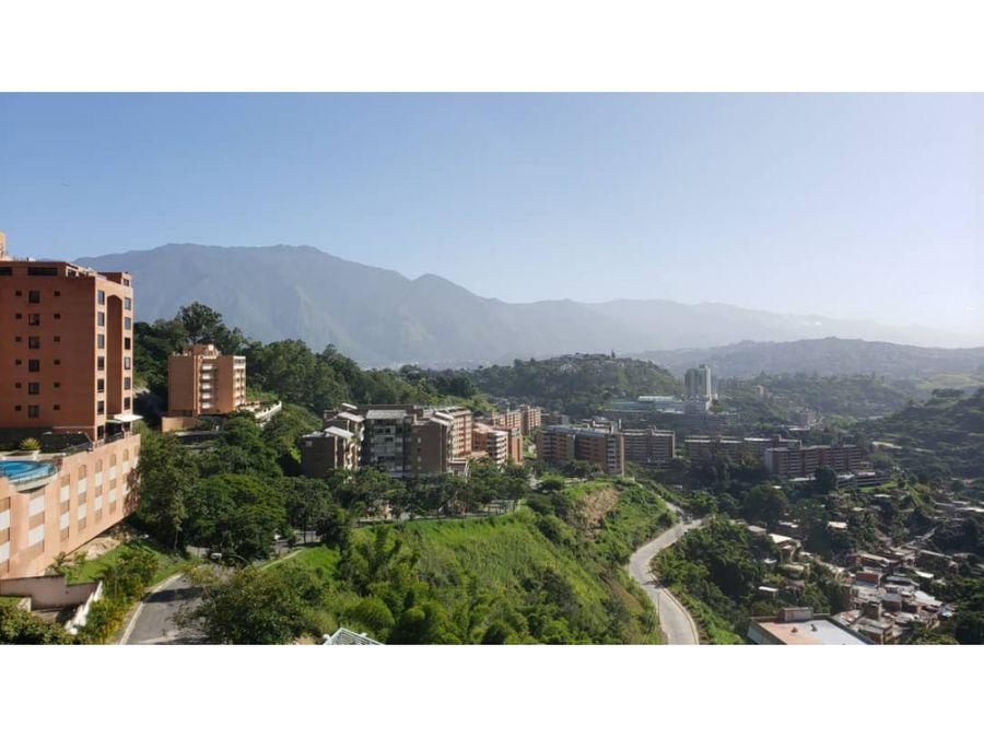 venta de apartamento 60m21h2b2pe lomas del sol hatillo caracas