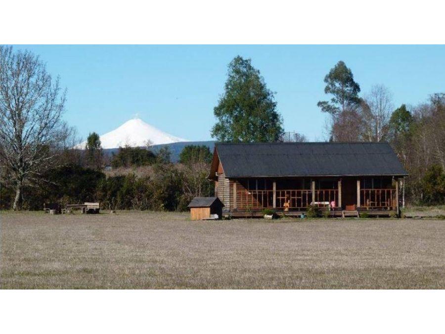 hermosa casa amoblada vista a volcan villarrica