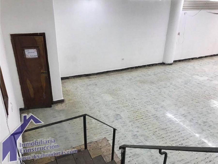 local en el centro de tegucigalpa