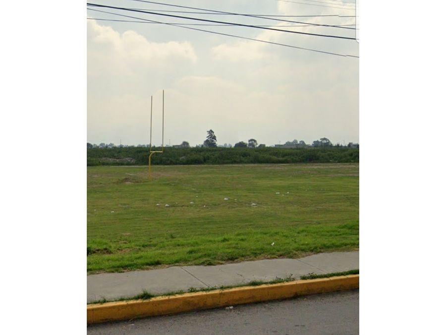 venta terreno zona comercial industrial chalco mexico