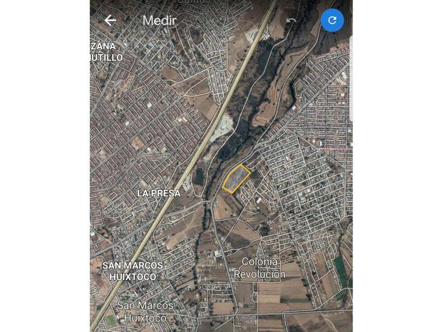 terreno localizado en via primaria chalco mexico