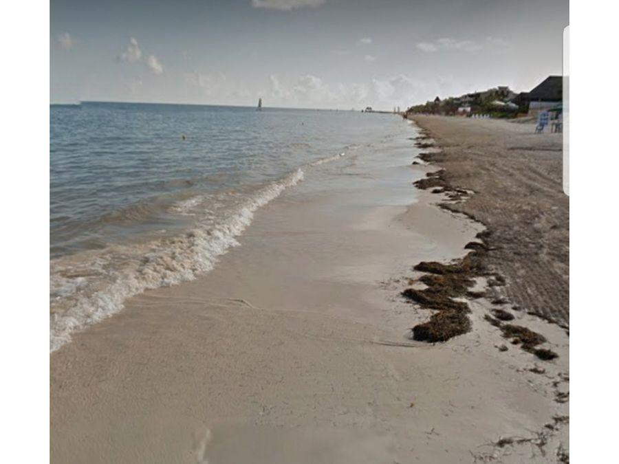 venta terreno en playa morelos quintana roo mexico