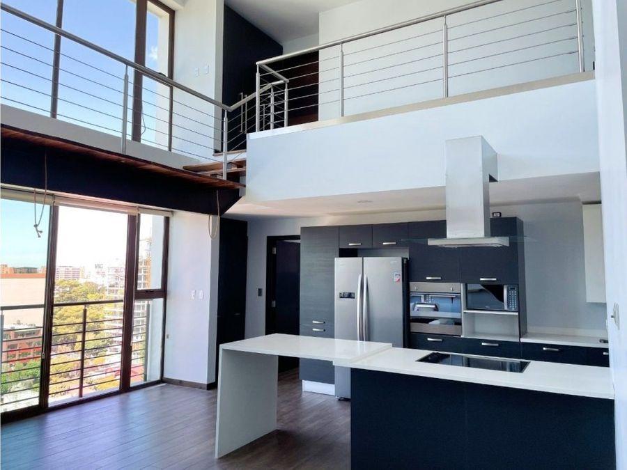 apartamento loft de 3 habitaciones en zona 10