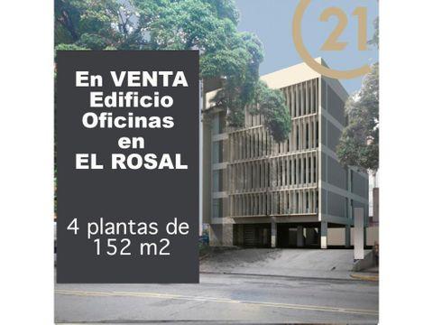 edificio de oficinas en el rosal