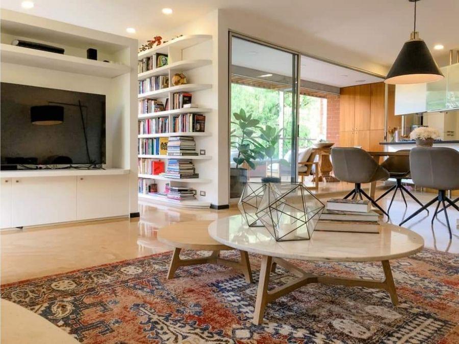 apartamento para la venta en el poblado sector la concha