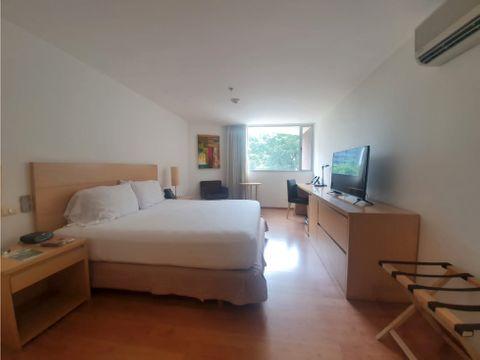 venta habitacion en hotel estelar blue el poblado