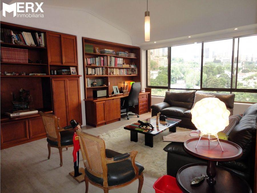 apartamento para la venta en el tesoro el poblado medellin