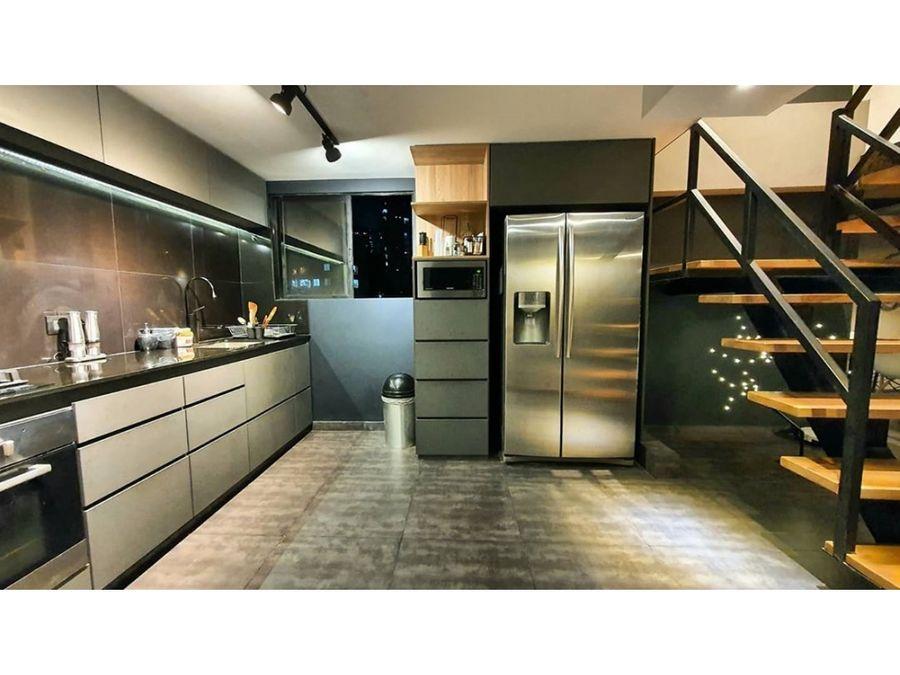 furnished duplex penthouse for sale el poblado medellin