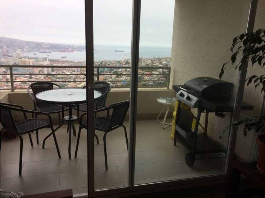 se vende departamento cerro delicias valparaiso