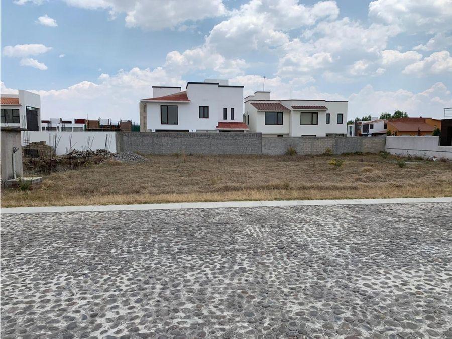 terreno residencial en venta en calimaya residencial el meson