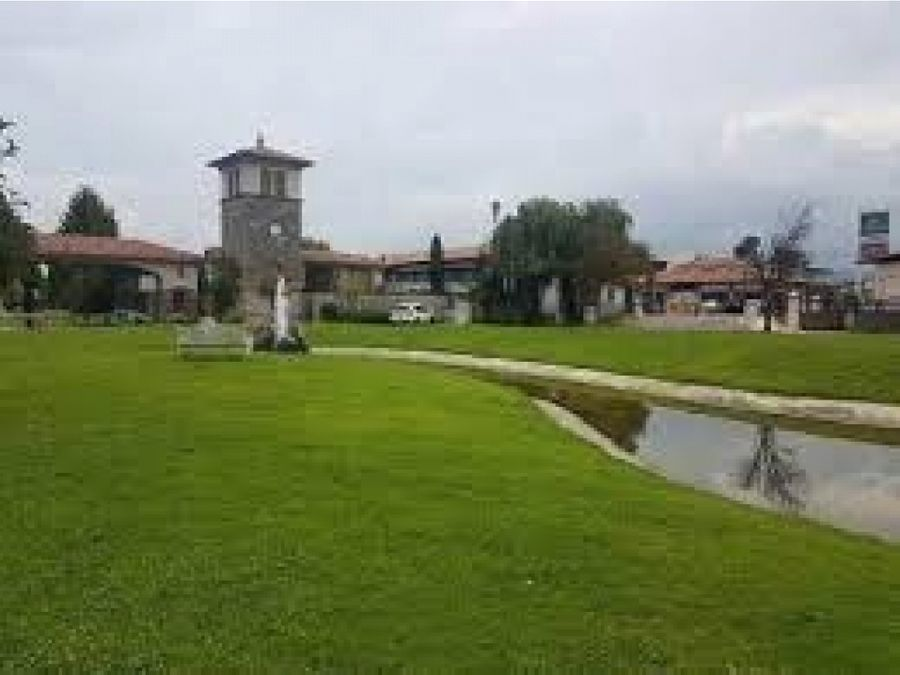 terreno en venta en calimaya residencial rancho el meson