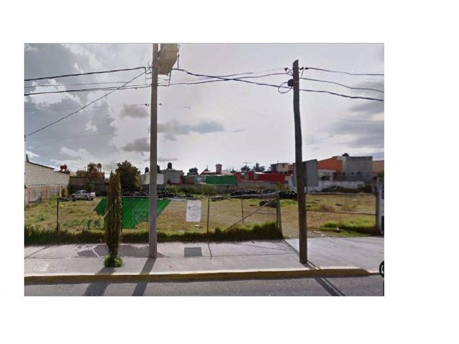 terreno en renta en metepec av las torrres