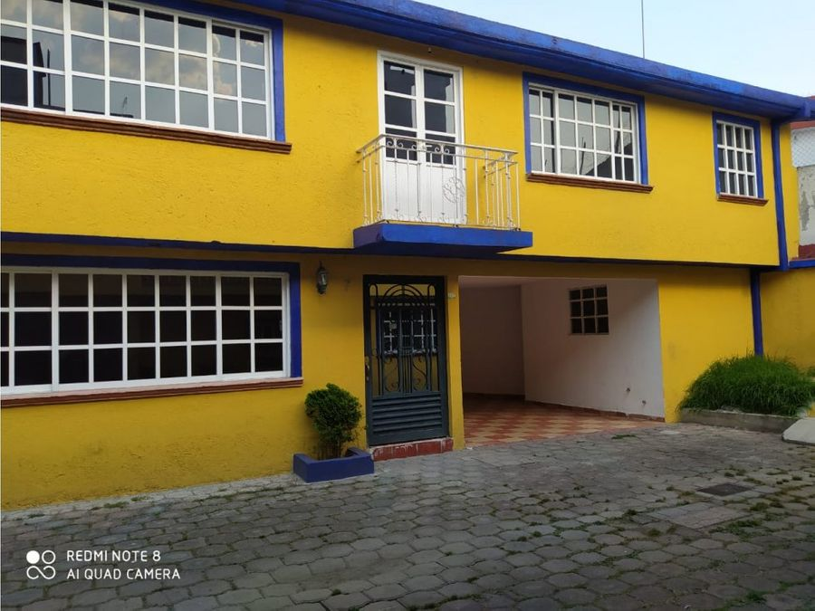 casa en renta en metpec col la municipal