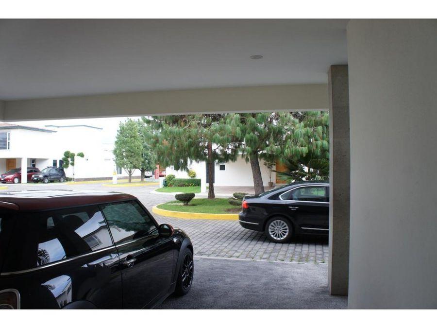 casa en venta en metepec residencial las fuentes
