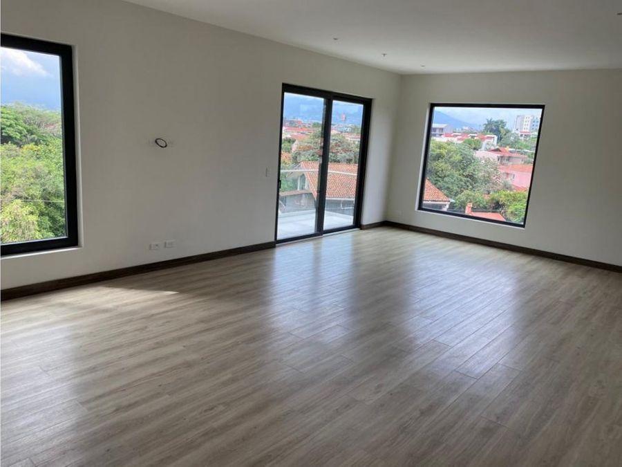 apartamento en venta en escazu