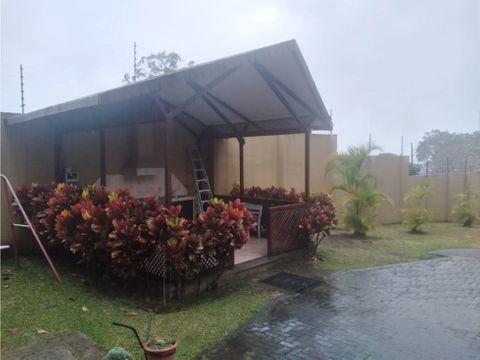 casa en condominio en ventaalquiler en curridabat guayabos
