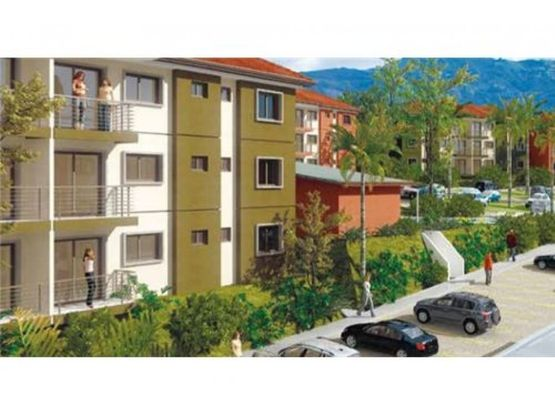 apartamento en exclusivo residencial tres rios